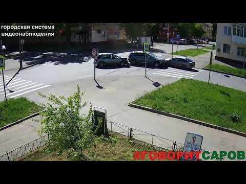 ДТП в Сарове на улице Чапаева