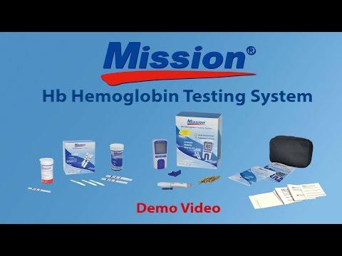 Mission Hb Hemoglobin Testing System Demo