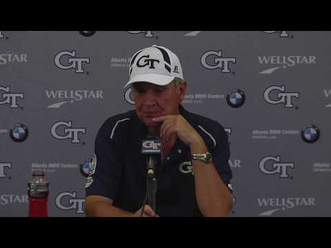 Video: #UNCvsGT: Coach Johnson Post-Game Press Conference (9-30-17)