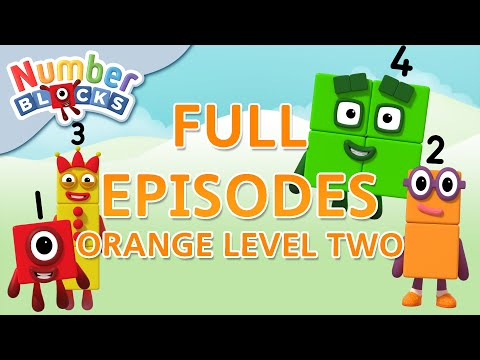 Numberblocks - Orange Level Two | Full Episodes 10-12 | #HomeSchooling | Learn to Count #WithMe
