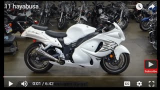 9. 2011 Suzuki hayabusa GSX1300R description