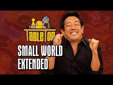 small - In celebration of the upcoming TabeleTop Day on March 30th, Geek & Sundry presents TableTop: Extended Editions, beginning with Small World. Each turn is show...