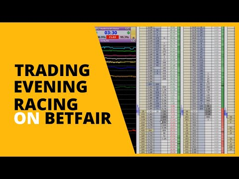 Swing Trading An Evening Race on Betfair