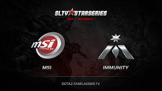 MSI-EvoGT vs Immunity, game 1