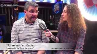"""Florentino Fernández: """"TVE es como si no existiera. No tiene publicidad con lo cual no existe"""""""
