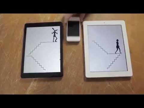 Απίστευτο animation με iphone, ipad και macbook