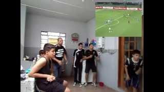 Corinthians X Chelsea Comemoração do gol