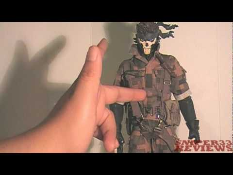 Big Boss Zombie Snake - MGS3 - Medicom