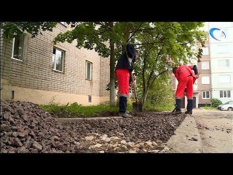 Выполнены две трети работ в областном центре в рамках проекта создания городской среды