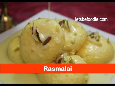 Indian sweets recipes:Rasmalai recipe/delicious desserts/easy homemade mithai recipe-let's be foodie