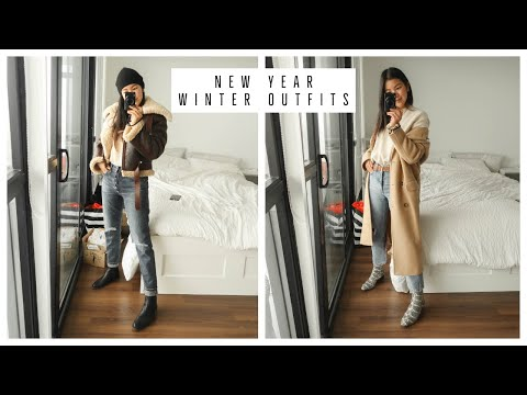 CASUAL WINTER OUTFITS 2019 | WHAT I WORE THIS WEEK видео