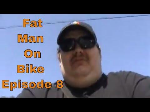 fat guy on bike pic. Fat Man On Bike Episode 8
