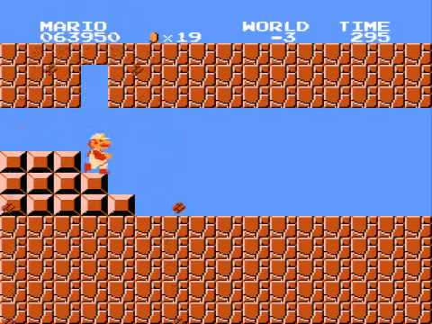 Super Mario Bros - The minus world and beyond (видео)