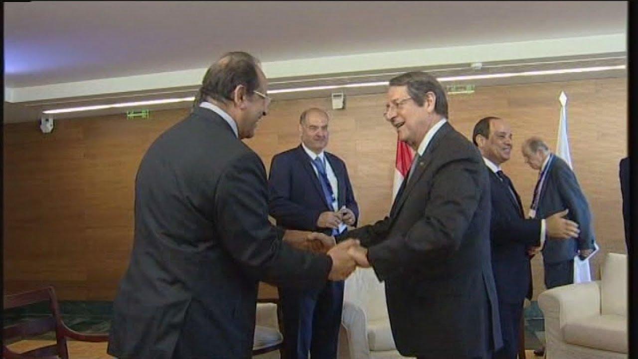 Συνάντηση του Πρ. της Κυπριακής Δημοκρατίας, με τον Πρόεδρο της Αιγύπτου, Αμπντέλ Φατάχ αλ Σίσι.