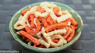 Dried Carrot and Radish Pickles (Dua Mon)