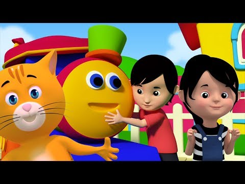 Rig ein Jig Jig   Bob der Zug   Kinderreime für Kinder   Baby Rhymes   Bob Train Rig A Jig Jig