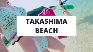 Takashima Japan  City new picture : 【Vlog】高島海水浴場 Takashima Beach in Nagasaki, Japan