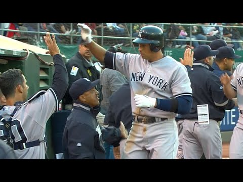Video: NYY@OAK: A-Rod puts the Yanks ahead in grand fashion