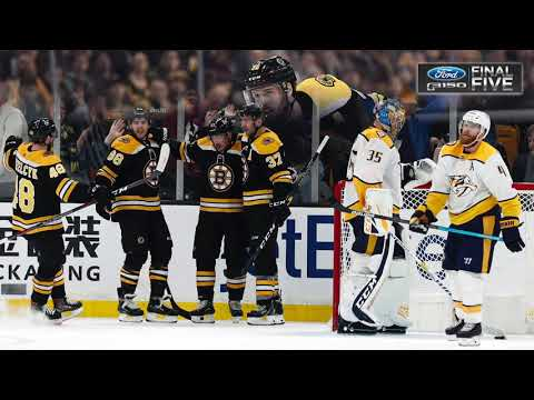 Video: Ford F-150 Final Five Facts: Bruins Win Over The Predators