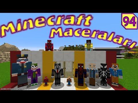 KURTADAM ÖRÜMCEK KÖYÜNDE (Minecraft Maceraları 94)