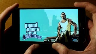 GTA San Andreas test on Samsung Galaxy S6 with Official Android 6.0.1 Marshmallow.