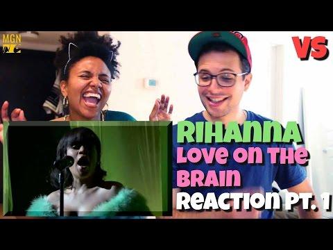 Rihanna - Love On The Brain (2016 Billboard Music Awards) - VS - Reaction Pt.1