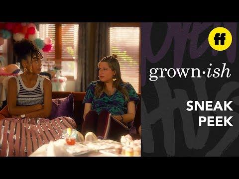grown-ish Season 3, Episode 5   Sneak Peek: Who's Nomi's Baby Daddy?   Freeform