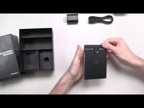 Blackberry Passport Unboxing