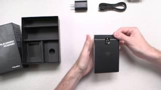 Video mở hộp BlackBerry Passport chính thức!