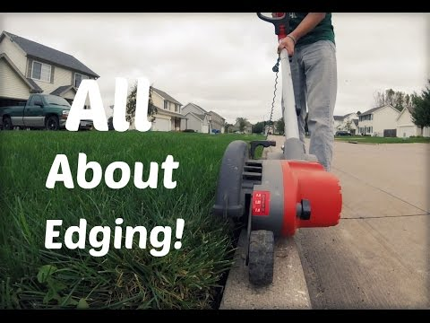 Lawn Update 25 - All About Edging (видео)