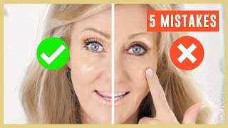 Video 5 Biggest Makeup Mistakes On Mature Eyes Tutorial Over 50 | Fabulous50s MP3, 3GP, MP4, WEBM, AVI, FLV Januari 2019