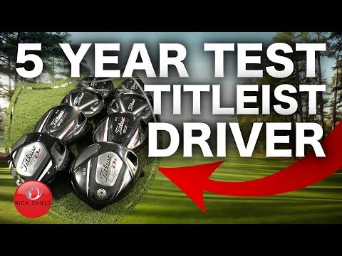 5 YEARS OF TITLEIST GOLF DRIVERS TESTED!