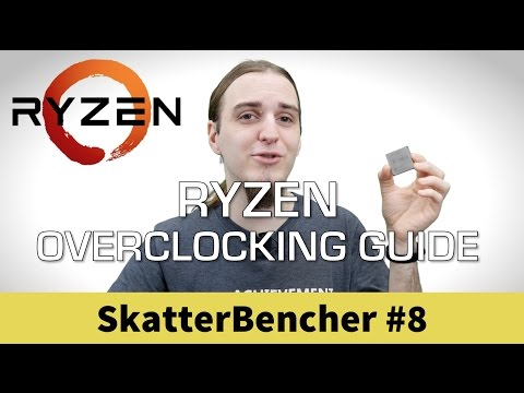 SB#8: AMD Ryzen 7 1800X Overclocked with ROG Crosshair VI Hero and G.SKILL Trident Z