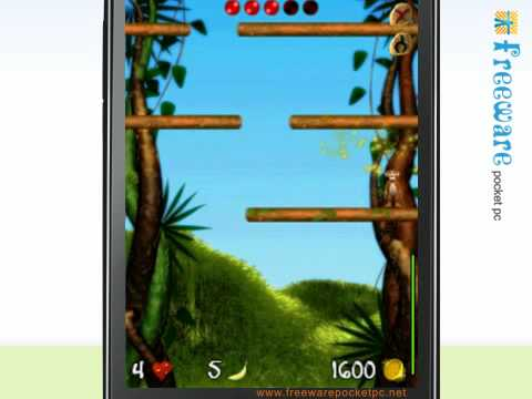 Get some fun with Monkey and Bananas on your windows mobile phone