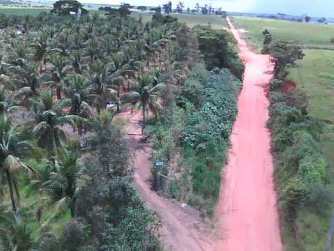 DRONE , teste em Guaracai-SP