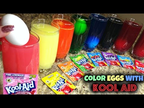 Video Coloring Easter Eggs With Kool Aid download in MP3, 3GP, MP4, WEBM, AVI, FLV January 2017