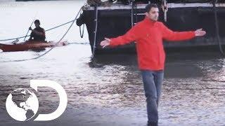Caminar sobre el agua   Dynamo: Magia imposible l Discovery Latinoamérica