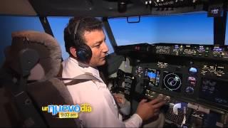 Daniel pilotea un avión 2  Un Nuevo Día  Telemundo