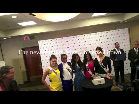 88 - At Crowne Plaza, Hotel, Miami, Florida, USA. Revealing the newly redesigned Miss Universe crown 2 days before the Miss Universe 2014 2015 to be held at FIU, Doral, Florida, USA. By OPMB ...