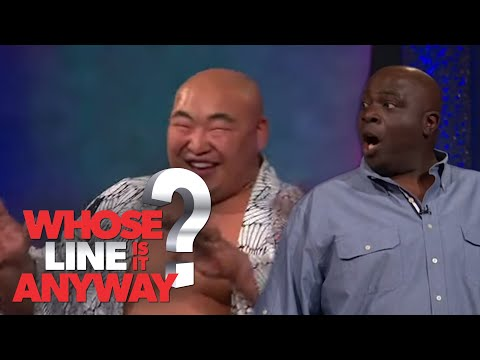 Singing Duets With a Sumo Wrestler | Whose Line Is It Anyway?