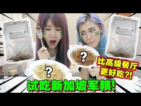 【开箱】试吃新加坡军粮 意外发现比高级餐厅更好吃?!