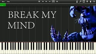 Video [Synthesia] DAGames - Break my Mind [FNAF] MP3, 3GP, MP4, WEBM, AVI, FLV Mei 2018