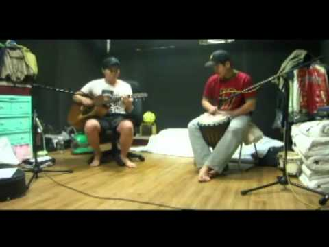 Acoustic Guitar + Djembe