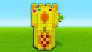 """Minecraft Tutorial: How To Make A Infinity Gauntlet """"Avengers: Infinity War"""""""