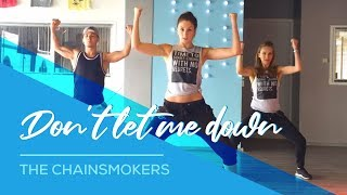 Video The Chainsmokers - Don't let me down - Combat Fitness Dance  Choreography MP3, 3GP, MP4, WEBM, AVI, FLV November 2017