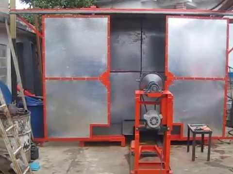 rotomoldeo - Maquina de Rotomoldeo Tipo Shuttle de Horno Fabricada por la Empresa Venezolana Plasticos Rotomiranda, c.a Ubicada en el Municipio Carrizal Edo.Miranda Telf....