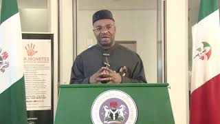 19TH DEMOCRACY DAY / 3 YEARS ANNIVERSARY BROADCAST BY MR. UDOM EMMANUEL, GOVERNOR, AKWA IBOM STATE.