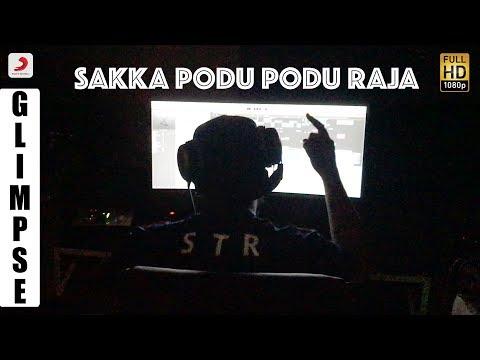 Sakka Podu Podu Raja – Glimpse of Song Recording | STR | Santhanam | VTV Ganesh