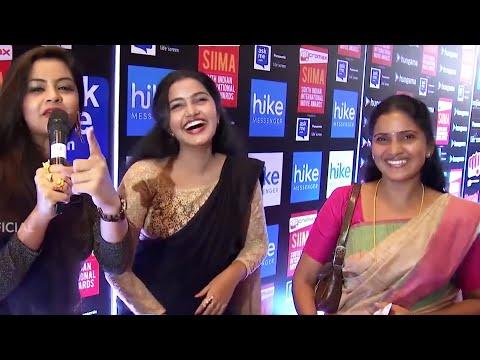 Anupama Parameswaran and Her Mother Making Fun