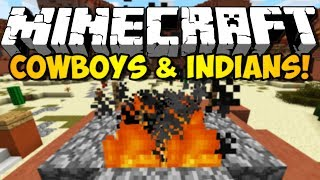 Minecraft - Cowboys and Indians: WESTERN CONFUSION! (HD)